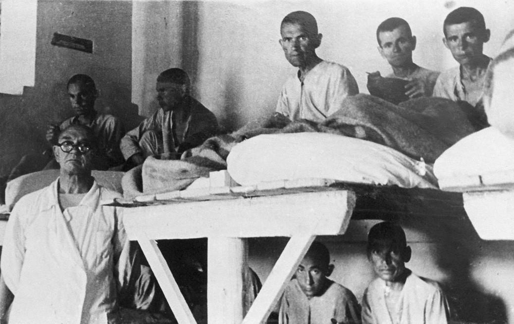 The camp's hospital